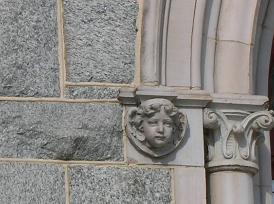 Stone Face                 Church EAst Baltimore
