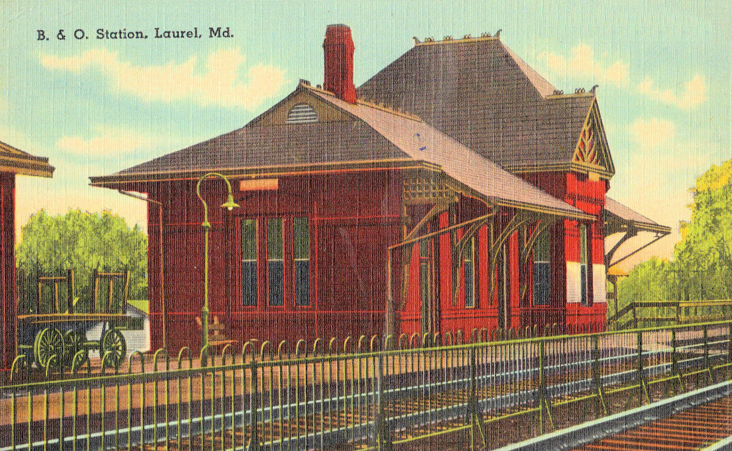 Laurel Maryland Train Station