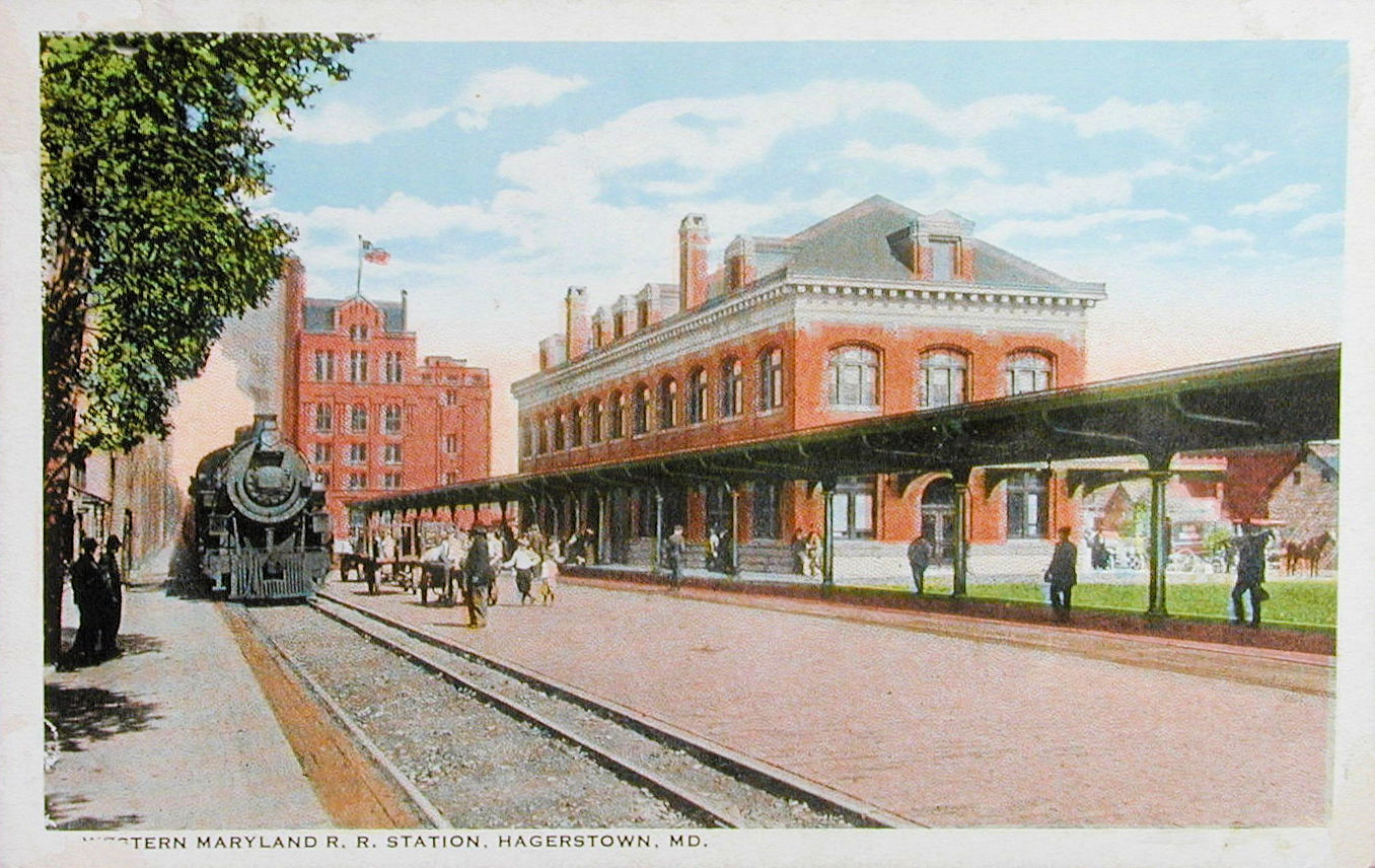 Hagerstown Maryland Train                 Station