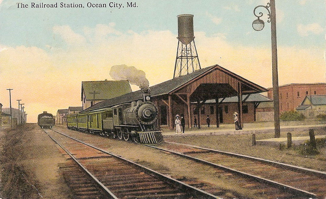Ocean City Maryland Train Station