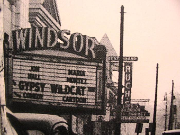 Windsor                 Theatre Baltimore
