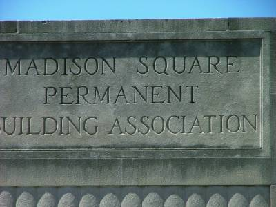 Madison                 Square Permanent Building Association Baltimore
