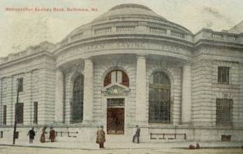 Metropolitan Savings Bank Baltimore Maryland
