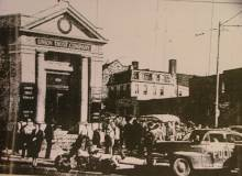 Walbrok Savings bank , Baltimore, 1940's bank               robbery