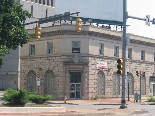Baltimore bank building North and Charles Street