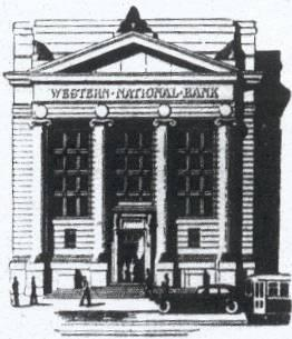 Western Bank Baltimore Maryland 1914