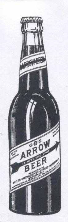 Arrow                 Beer bottle Baltimore Maryland
