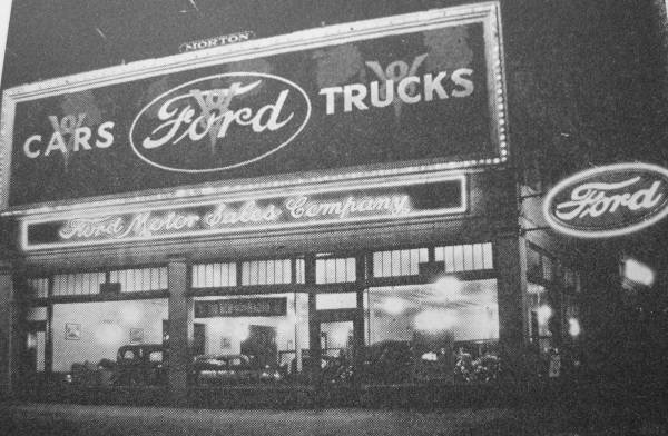 Park Circle Ford 3400 Reisterstown Road Baltimore               1934