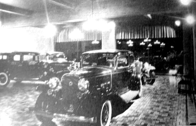 Cunliffe               Cadillac 2400 North Charles Street Baltimore 1930