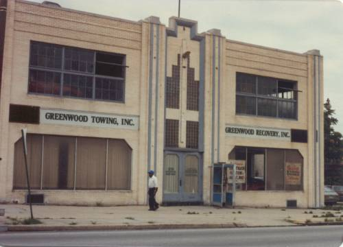 Brooks Price Buick Building North Avenue 1980's