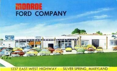 Monroe Ford Silver Spring Maryland