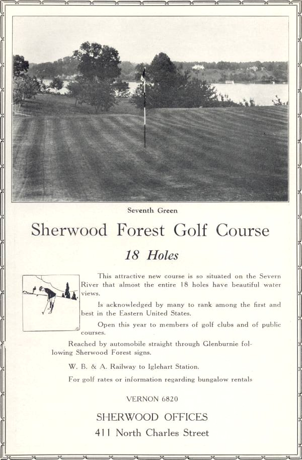Sherwood Forest Golf Course