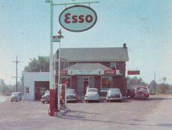 Millersville Maryland Esso Station 1950's