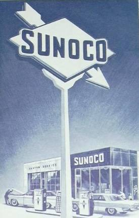 Sunoco Gas Station, Baltimore