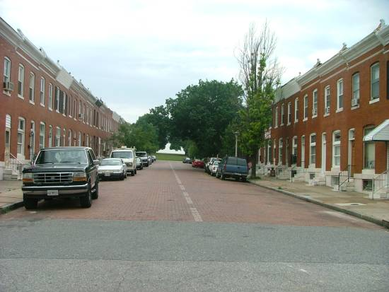 East Baltimore Patterson Park Area Rowhouses