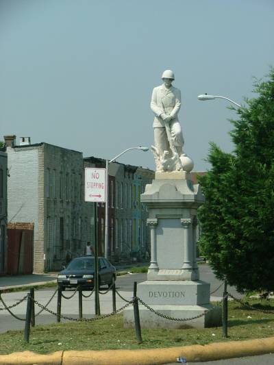 Southwest Baltimore Monument