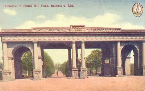 Druid Hill Park Baltimore