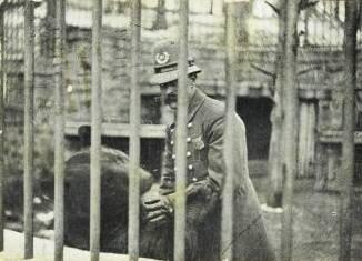 Police at Baltimore zoo