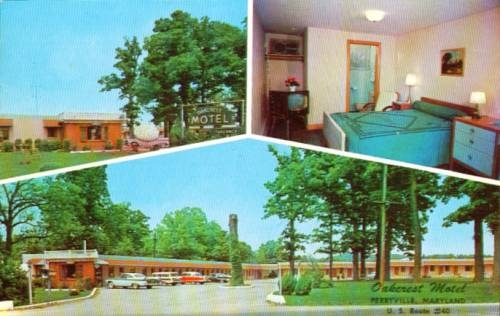 Perryville Maryland Oascrest Motel PC