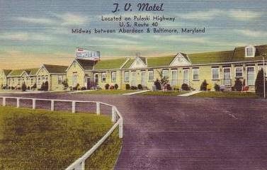 TV               Motel Bradshaw Maryland