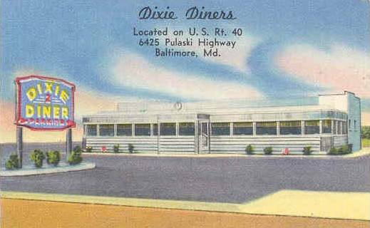 Dixie Diner Baltimore