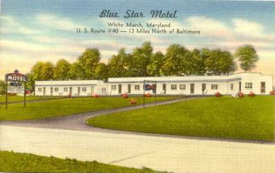 Blue               Start Motel Baltimore