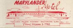 Marylander Motel Baltimore
