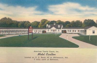 Motel                 Carlton White Marsh Maryland