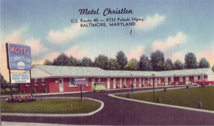 Motel Christlen Motel Baltimore Maryland Rt 40