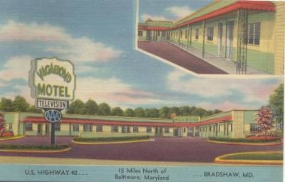 Vagabond Motel Bradshaw Rt 40 Maryland