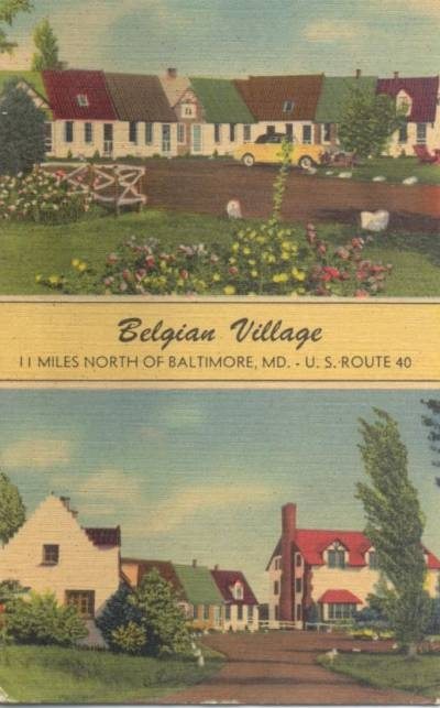 Belgian Village Bradshaw Maryland