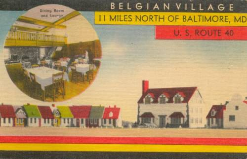 Belgian Village Bradshaw Maryland Rt 40