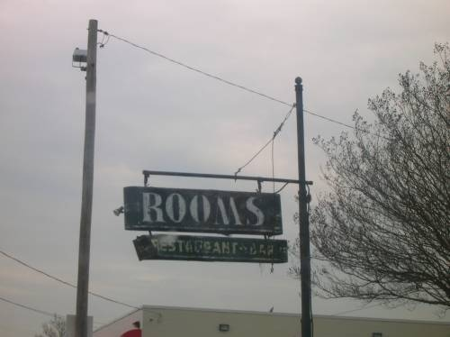 Rooms Sign Pulaski Highway US40 Baltimore