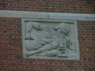 Western High School stone work