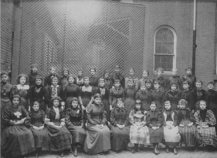 Western High School Class of 1892