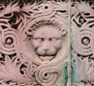 Lion stone               Work , Baltimore Maryland