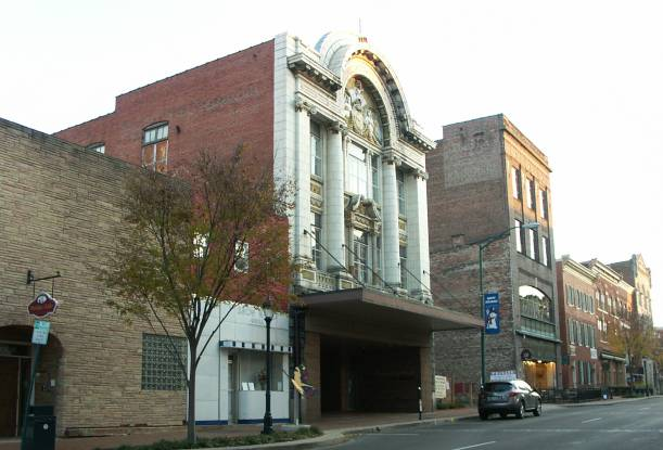 Colonial               Theatre, Hagerstown Maryland
