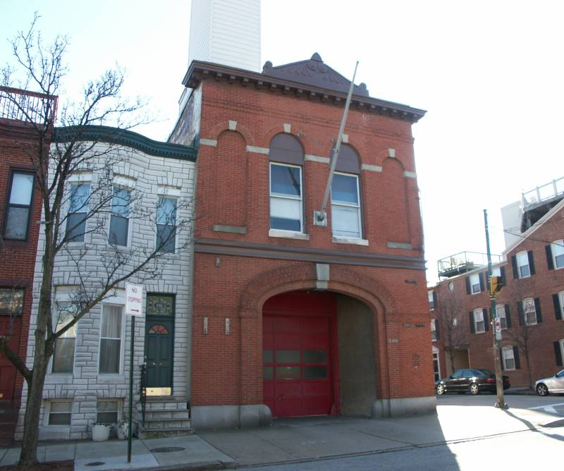 Baltimore Firehouse Fort Avenue
