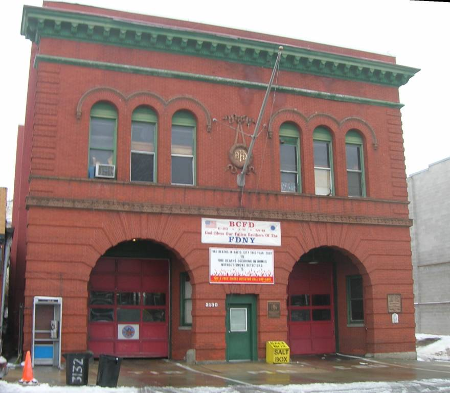 Baltimore Firehouse Northn and Ellamont