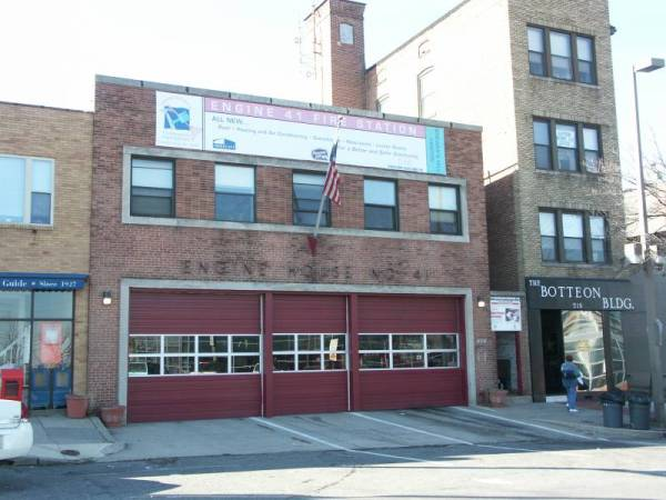 Baltimore Firehouse Conkling Street
