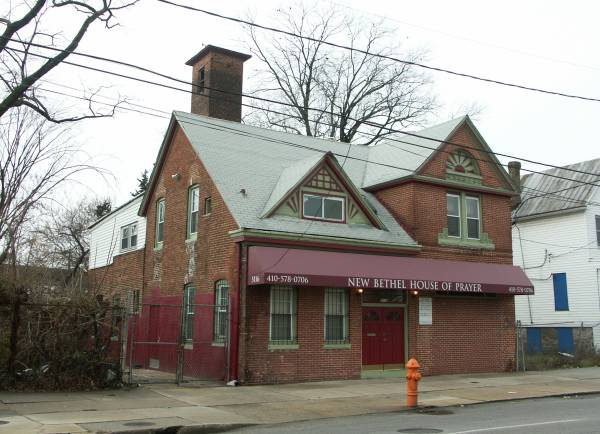 Baltimore Firehouse Reisterstown Road