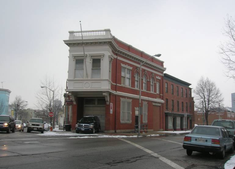 Baltimore Firehouse Eutaw and Druid Hill