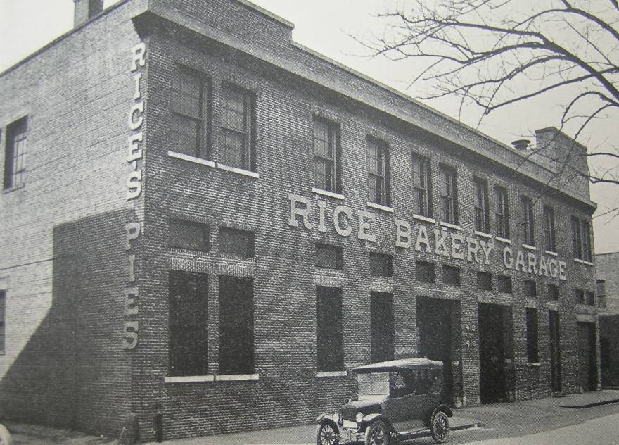 Rice's Bakery Garage 400 High Street
