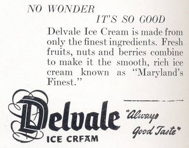 Delvale Ice Cream Baltimore