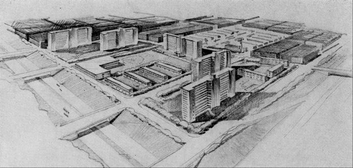 Plans for Projects Baltimore 1950s