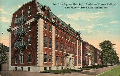 Franklin Sq                 Hospital, Baltimore Maryland