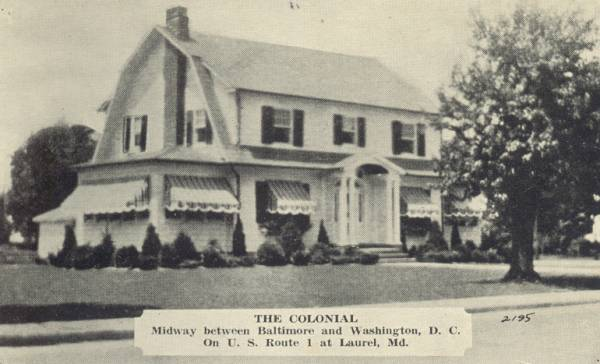 The Colonial , Laurel Maryland Rt 1