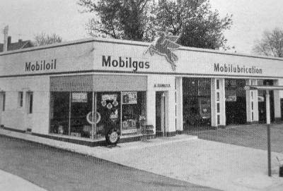1960's Mobil Gas Station, Joppa Road , Towson                 Maryland